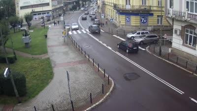 Kamera na żywo - Sanok ul. Kościuszki