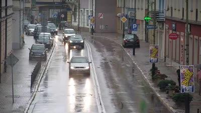 Kamera na żywo - Sanok ul. Jagiellońska