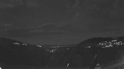 Kamera na żywo - Solina - widok na zaporę